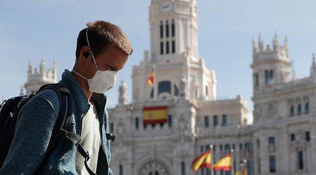İspanya'da son 24 saatte 25 bin 438 koronavirüs vakası