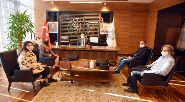 KİGADER'den Kayseri Ticaret Odası'na ziyaret