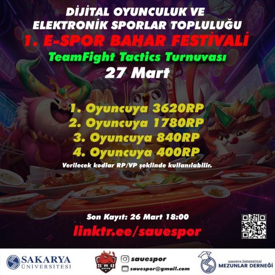 SAÜ'den E-Spor Festivali