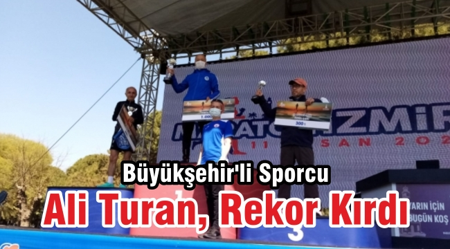 Büyükşehir'li Sporcu Ali Turan, Rekor Kırdı