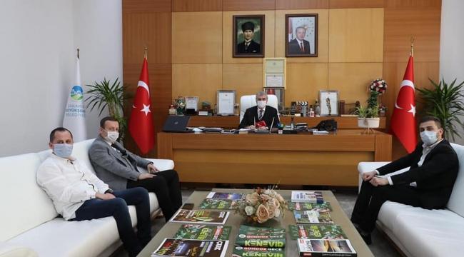 Fatih Ayan'dan Başkan Yüce'ye Ziyaret