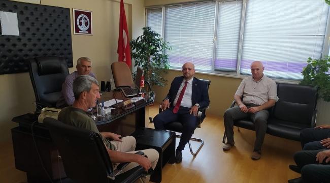 İYİ Parti Heyeti Pamukova'da Ziyaretlerde Bulundu